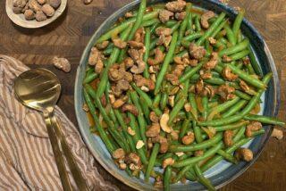 Bønnesalat med cashewnødder