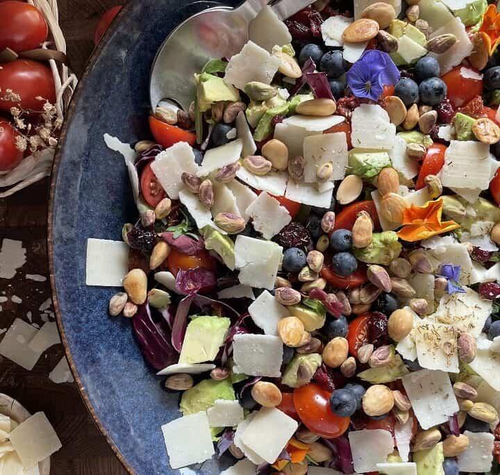 Farverig salat