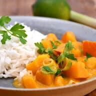 græskar curry kødfri gryderet