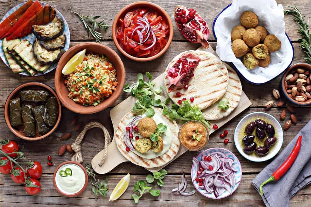 mellemøstlig mad mezze