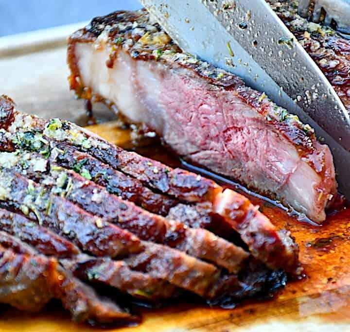 wagyu ribeye steak tilberedt medium