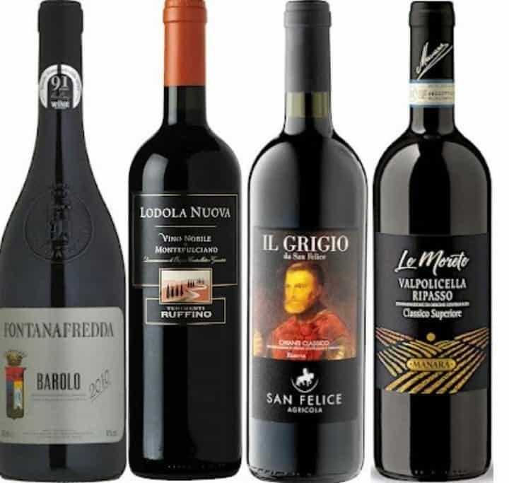 Italienske vine - vintest