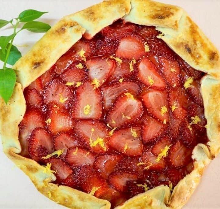 Jordbærgalette