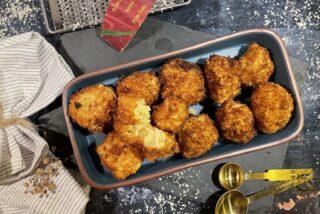 Jordskokkekroketter med kartofler